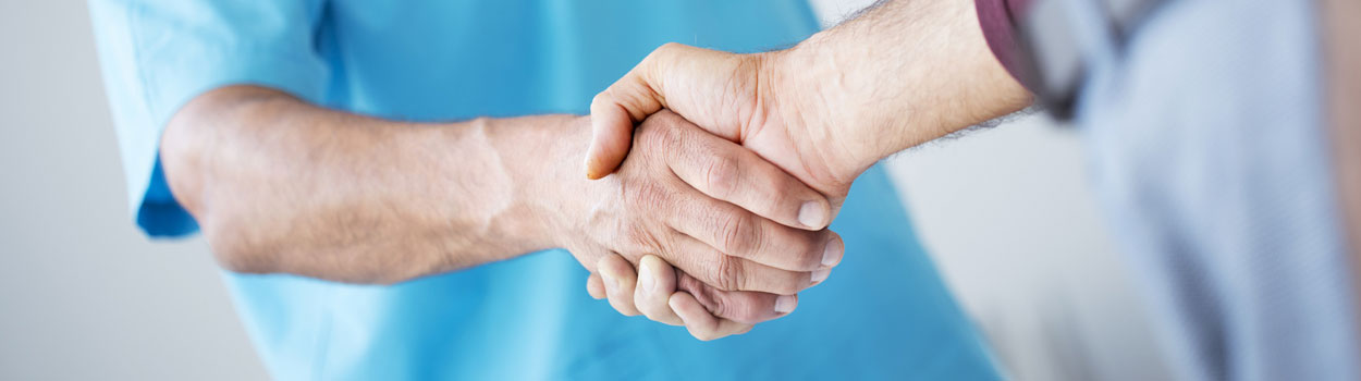Doctor Client Hand Shake